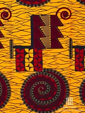 Vlisco Dutch Wax 4YW112