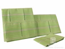 Aso-Oke A159 Mint Green/Silver