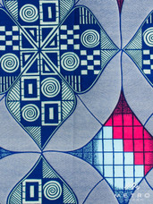 Vlisco Dutch Wax 4YW120 Exclusive Design #47841