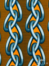Vlisco Dutch Wax 4YW123 Exclusive Design A0589
