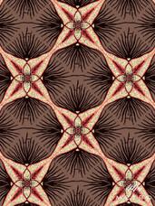 Embellished Vlisco Dutch Wax LTDEW036 Exclusive Design #8567