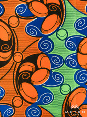 Vlisco Dutch Wax W1257
