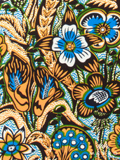 Embellished Vlisco Dutch Wax LTDEW046