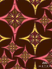 Vlisco Dutch Wax W1265 Exclusive Design #3992