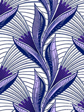Vlisco Dutch Wax W1274 Exclusive Design #3632