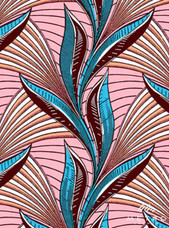 Vlisco Dutch Wax W1275 Exclusive Design #3632