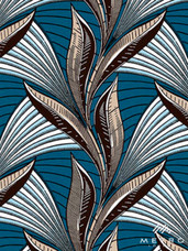 Vlisco Dutch Wax W1276 Exclusive Design #3632