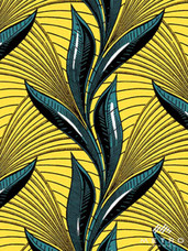 Vlisco Dutch Wax W1279 Exclusive Design #3632