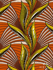 Embellished Vlisco Dutch Wax LTDEW060 Exclusive Design #3632