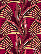 Embellished Vlisco Dutch Wax LTDEW062 Exclusive Design #3632