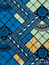 Vlisco Dutch Super Wax SW884