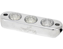 Vision X HIL-DL3G Green LED 3-Pod Light with Billet Aluminum Tube Frame Mount