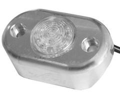 Vision X HIL-DLA Amber LED Pod Light with Billet Aluminum Tube Frame Mount