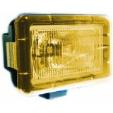 "YELLOW LIGHT COVER 5"" x 7"" RECTANGLE VISION X PCV-5700"