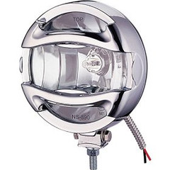"Pair 6"" 100 Watt Halogen Euro Beam Off Road Lamp With Rock Guard. VX-T9000SW"