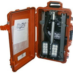 Vision X XLS-4S1101BP Four Solo Pod LED Incident Response Case