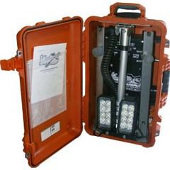 Vision X XLS-4S1101BP Four Solo Pod LED Incident Response Case