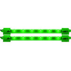 "Vision X HIL-M6G 6"" Green LED Light Bar - Pack of 2"