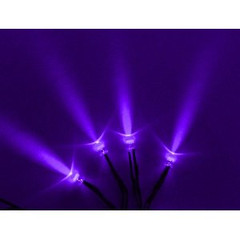 Vision X HIL-SLP Blue Purple LED With 3 Foot Cord - Pack of 4