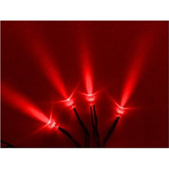 Vision X HIL-SLR Red LED With 3 Foot Cord - Pack of 4