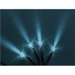 Vision X HIL-SLW Blue White LED With 3 Foot Cord - Pack of 4