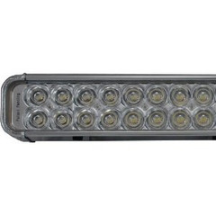 "Vision X XIL-1000C XMITTER 52"" Single Stack Euro Beam LED Light Bar (chrome)"
