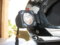 XIL-S1100 SINGLE HELMET MOUNT PIECE