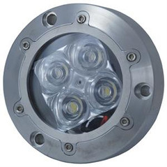 Vision X XIL-U40W Subaqua Underwater LED Light Four White 3-Watt LED'S Narrow Beam
