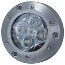 Vision X XIL-U40B Subaqua Underwater LED Light Four Blue 3-Watt LED'S Narrow Beam