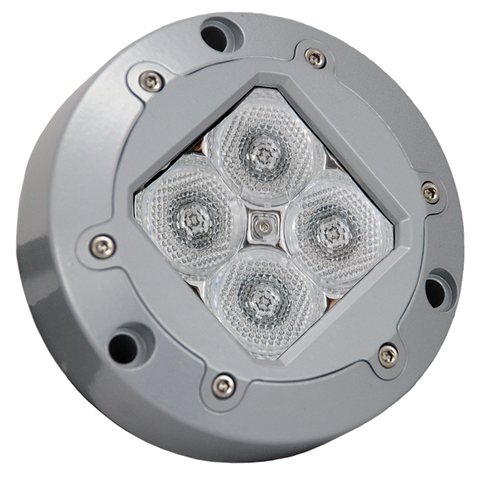 Subaqua Underwater LED Light Four Blue 3-Watt LED'S Wide Beam - Vision X XIL-U41B 4008656