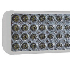 "Vision X XIL-2.120W XMITTER 8"" Double Stack Euro Beam LED Light Bar (white)"
