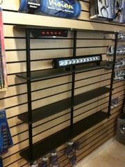 LED Light Bar Display Shelf
