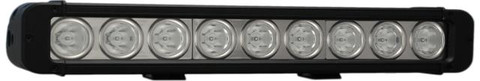 """Vision X  12"""" low profile xmitter prime LED light bar with 9 10 watt LEDs."""
