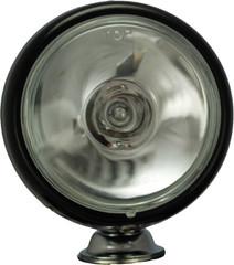 """Vision X VX-T1000B 4"""" BLACK 55 WATT HALOGEN SPOT BEAM LAMPS-PAIR"""