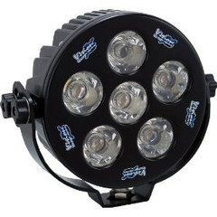 "Vision X XIL-S6100W Solstice 6"" Round LED Euro Beam Lamp-White Housing"