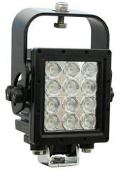 Vision X MIL-RXP1260T Ripper Xtreme Prime LED Light w/ trunnion and suspension bracket (60 degree)