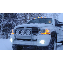 Dodge Ram 02-10 Fog Light Upgrade Kit 4000 Lumens!
