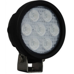Vision X Utility Market LED light XIL-UMX4025 ROUND LED light FRONT VIEW