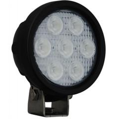 Vision X Utility Market LED light XIL-UMX4025 ROUND LED light FRONT VIEW