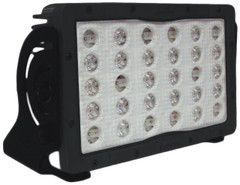 FRONT VIEW 30 LED PIT MASTER MINING/INDUSTRIAL LED LIGHT  30 x 65 °  ELLIPTICAL BEAM   MIL-PMX30E3065