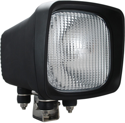 Vision X HID Flood Light.  HID-6601.70.  70 Watt HID Heavy duty equipment and mining light.