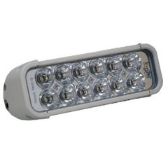"8"" XMITTER LED LIGHT BAR WHITE FLOOD BEAM VISION X XIL-121W"