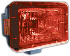 "RED LIGHT COVER 5"" x 7"" RECTANGLE VISION X PCV-5700R"
