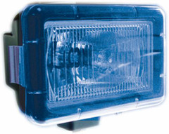 "BLUE LIGHT COVER 5"" x 7"" RECTANGLE VISION X PCV-5700B"