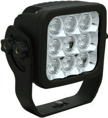 "4"" SQUARE EXPLORER LED DRIVING LIGHT 45 Watt 30° x 65° elliptical beam VISION X CTL-EPX9e3065"