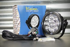"6"" ROUND EXPLORER LED DRIVING LIGHT 55 Watt 40° wide beam CTL-EPX1140"