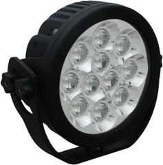 "6"" ROUND EXPLORER LED DRIVING LIGHT 55 Watt 30° x 65° elliptical beam VISION X CTL-EPX11e3065"