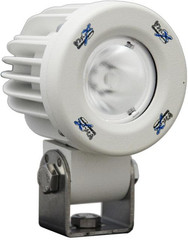 "WHITE XIL-SP110 2"" 10 Watt Solstice Solo Prime LED Pod 10° Spot Beam"