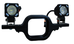 RECEIVER HITCH MOUNT WITH TWO VISION X SOLO LED LIGHTS - Vision X XIL-SRECEIVERS1101X2 4008595