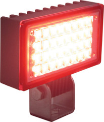 RED LED Utility Market Flood Light - Vision X XIL-UF32R 9121369